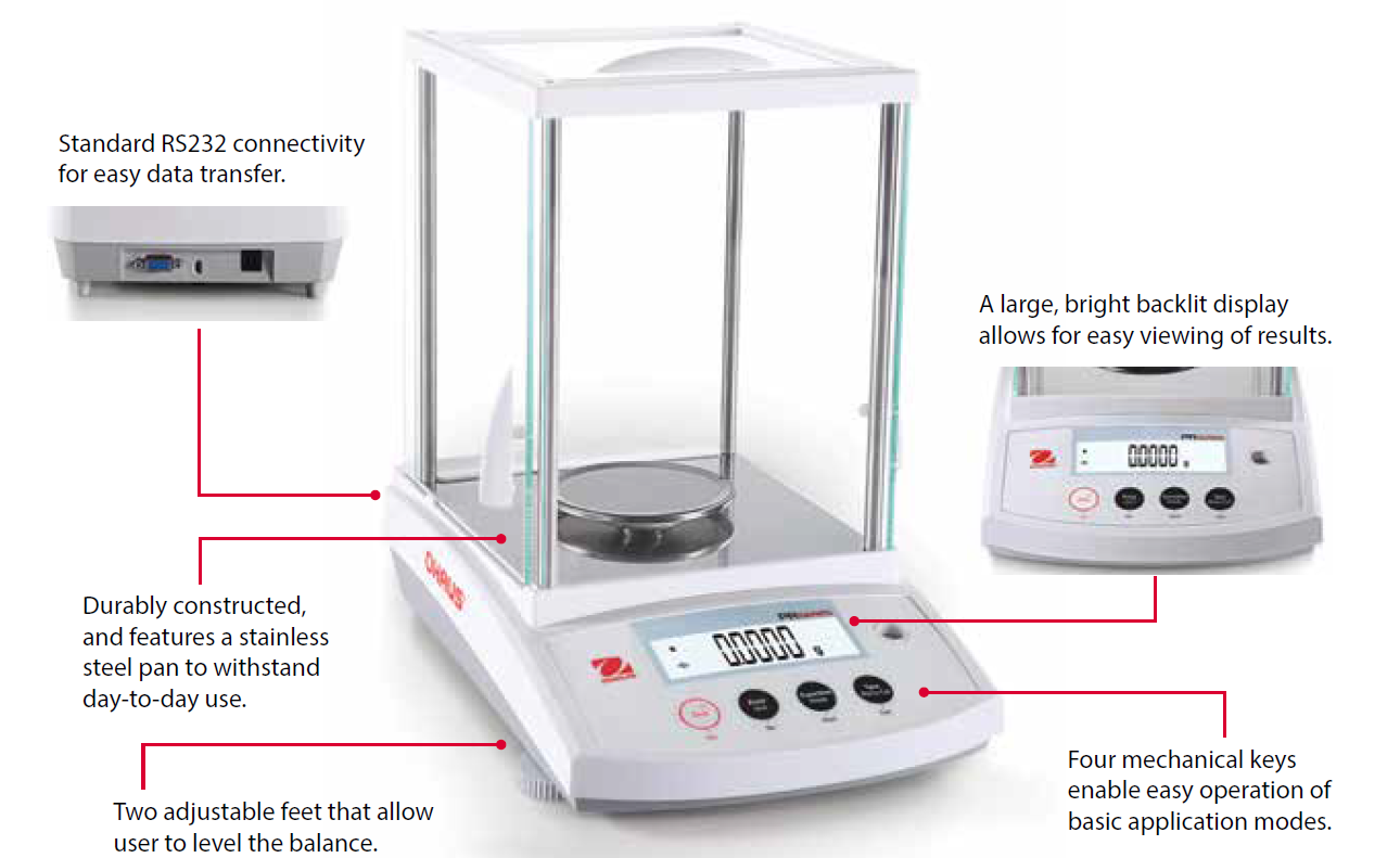 Ohaus PR Series Analytical