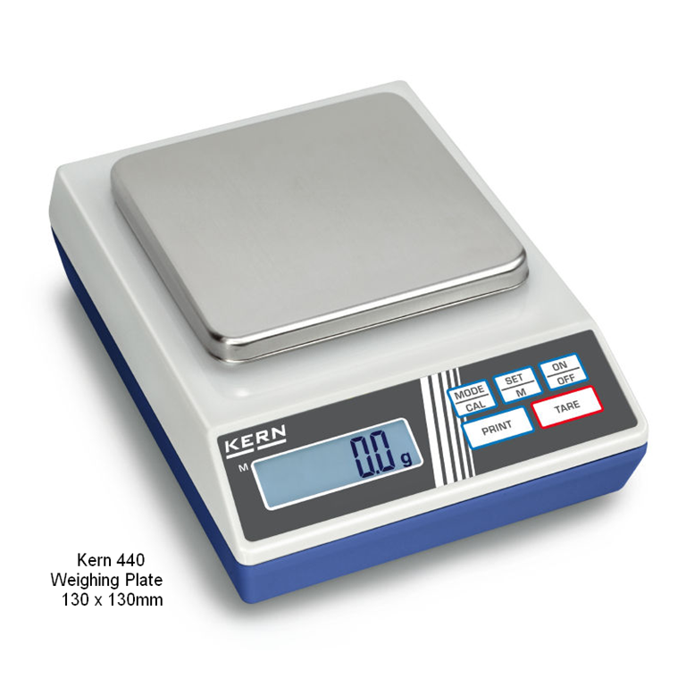 Kern 440 Precision Balances 130x130mm