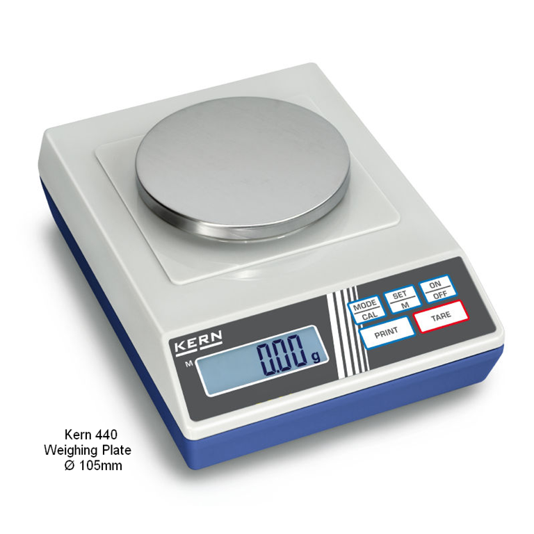 Kern 440 Precision Balances Ø105mm