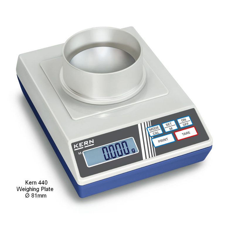 Kern 440 Precision Balances Ø81mm