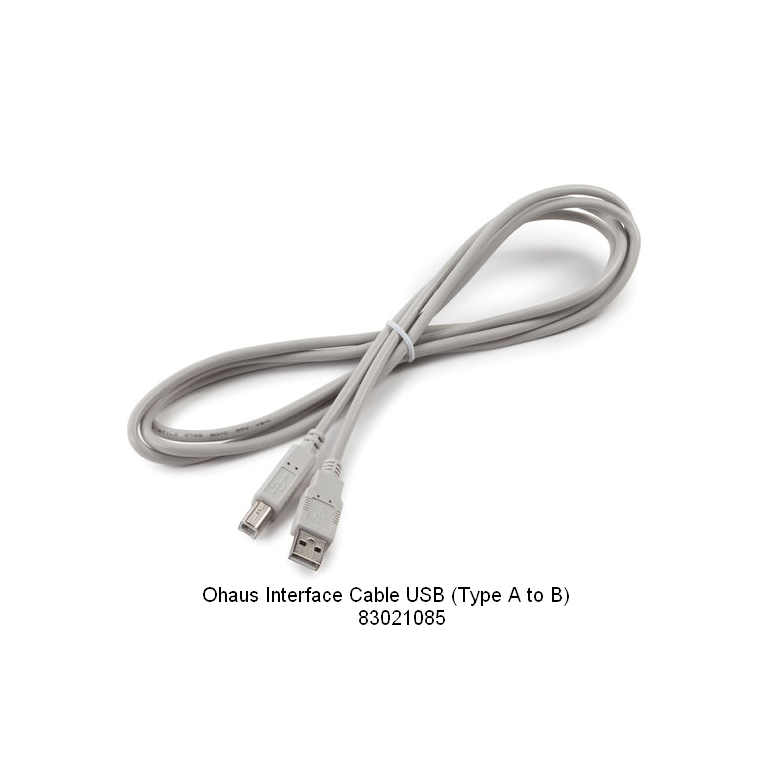 Ohaus USB (Type A to B) Interface Cable 83021085