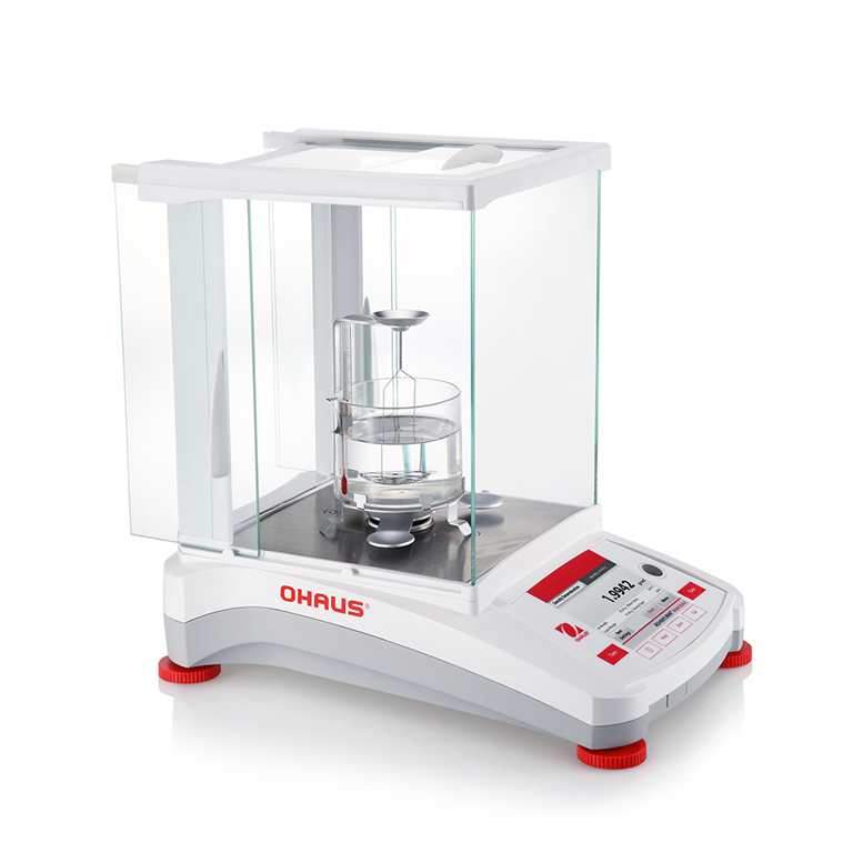 Ohaus Adventurer Analytical Balance with Density kit