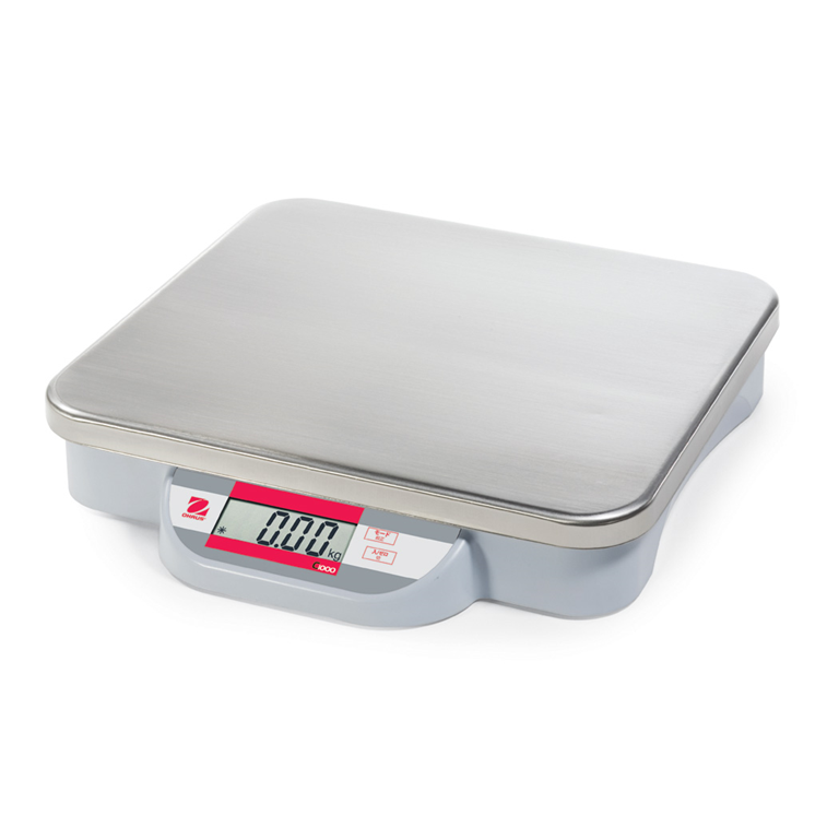 Ohaus Catapult 1000 Bench Scale with optional stainless pab