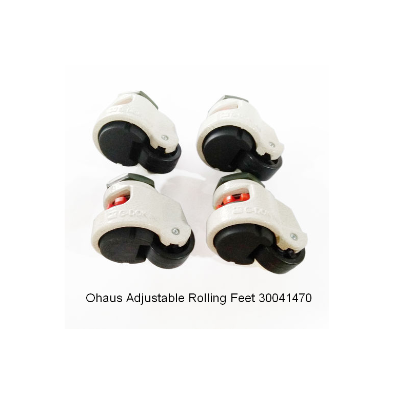 Ohaus Adjustable Rolling Feet 30041470