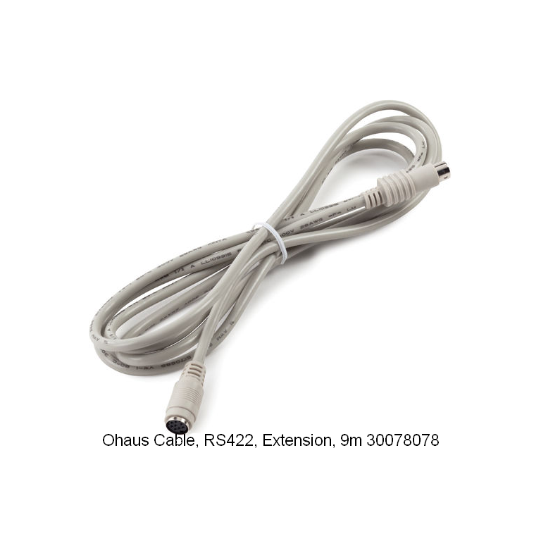 Ohaus RS422 Extension Cable 9m 30078078
