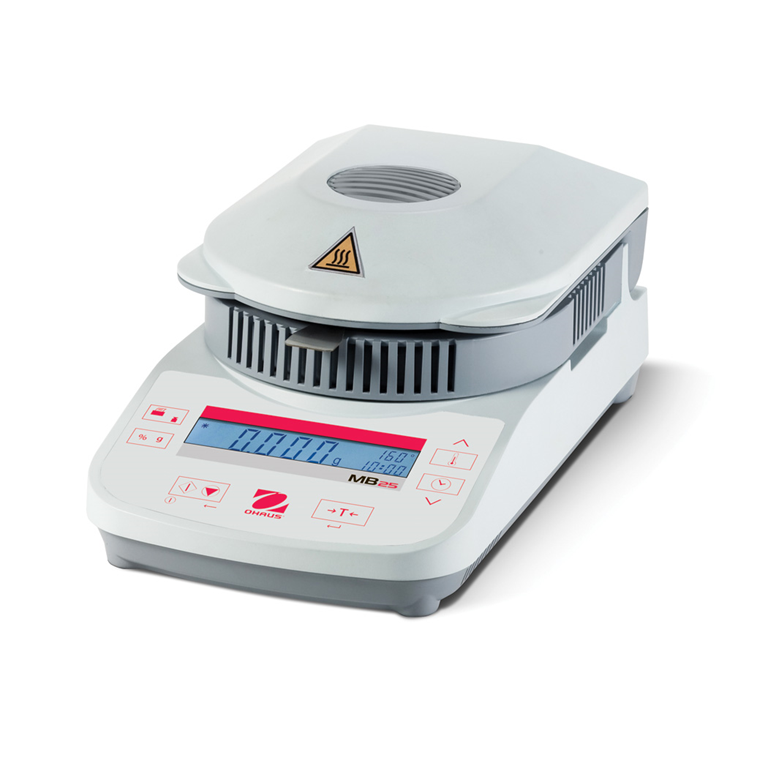 Ohaus MB25 Moisture Analyser Closed