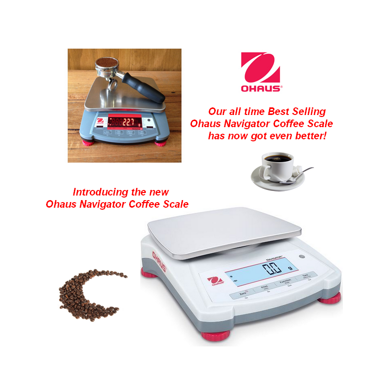 Ohaus Navigator Coffee Scales