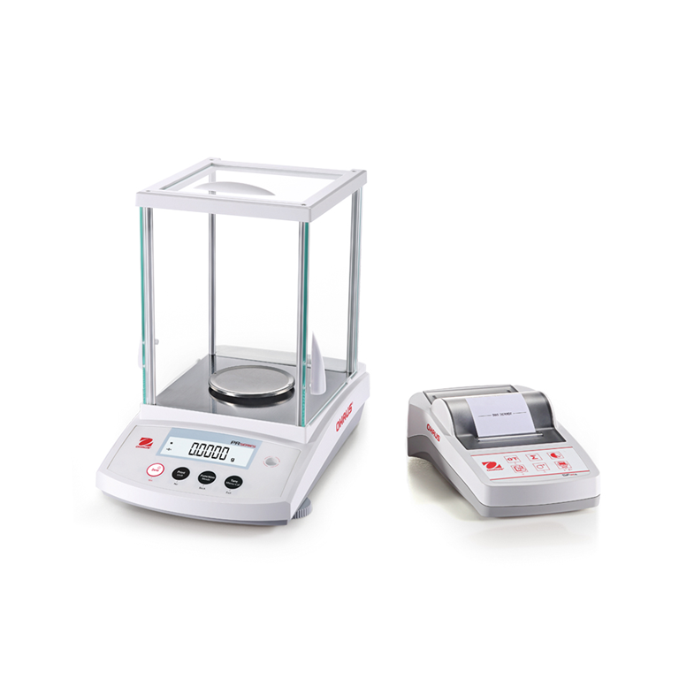 Ohaus PR Series Analytical Balance with SF40A printer