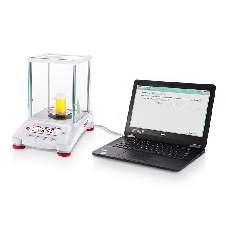 Ohaus Pioneer Analytical Balance with Data Transfer to a PC