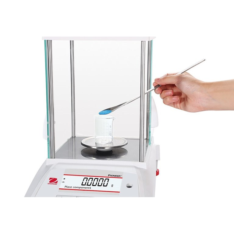 Ohaus Pioneer Analytical Balance ideal for weighing light powder