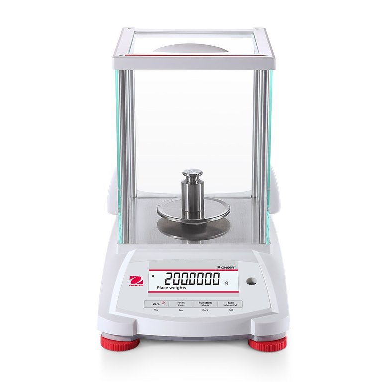 Ohaus Pioneer Analytical Balance calibrated