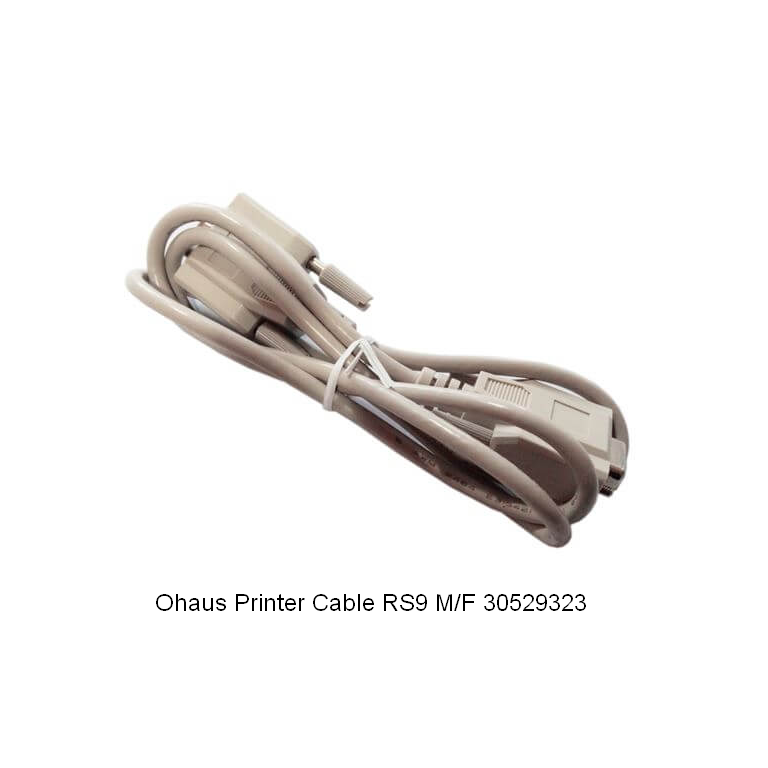 Ohaus SF40A Printer Cable RS9 M/F 30529323
