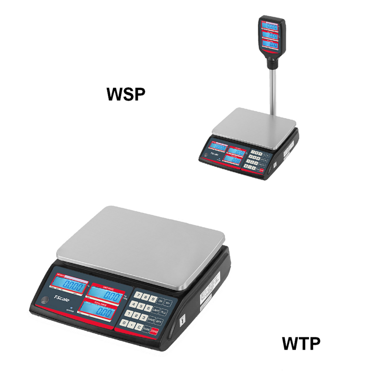 T-Scale WTP & WSP Retail Scales